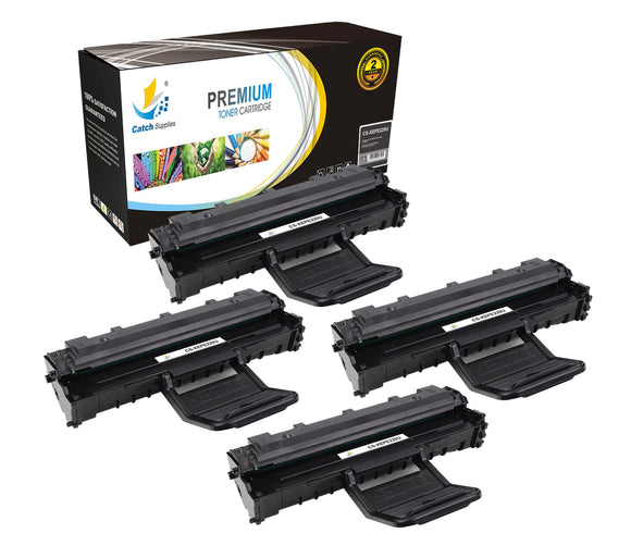 Catch Supplies Replacement Xerox 013R00621 Standard Yield Laser Printer Toner Cartridges - Four Pack