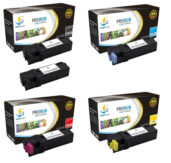 Catch Supplies Replacement 2130 Toner Cartridge 5 Pack Set
