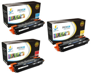 Catch Supplies Replacement HP Q2671A,Q2672A,Q2673A Standard Yield Laser Printer Toner Cartridges - Three Pack