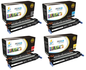 Catch Supplies Replacement 501A – 502A Toner Cartridge 4PK Set