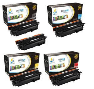 Catch Supplies High Yield Replacement 504X – 504A Toner Cartridge 5PK Set