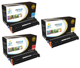 Catch Supplies Replacement HP C9731A,C9732A,C9733A Standard Yield Laser Printer Toner Cartridges - Three Pack