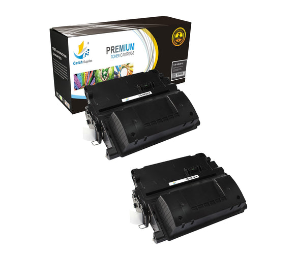 Catch Supplies Replacement HP CF281X High Yield Black Toner Cartridge Laser Printer Toner Cartridges - Two Pack