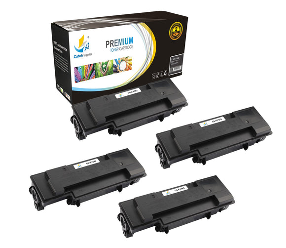 Catch Supplies Replacement Kyocera TK-342 Standard Yield Laser Printer Toner Cartridges - Four Pack
