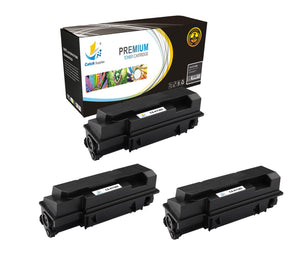 Catch Supplies Replacement Kyocera TK-362 Standard Yield Laser Printer Toner Cartridges - Three Pack