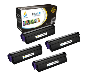 Catch Supplies Replacement B430 Black Toner Cartridge 4 Pack