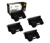 Catch Supplies Replacement Okidata 52114502 Standard Yield Laser Printer Toner Cartridges - Four Pack