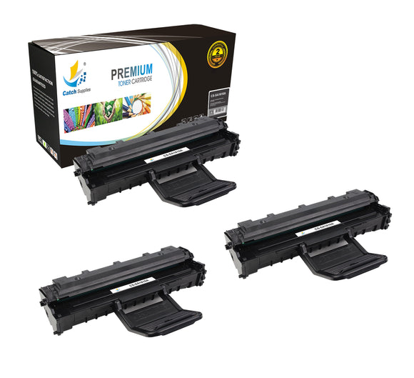 Catch Supplies Replacement Samsung ML-1610D2 Standard Yield Laser Printer Toner Cartridges - Three Pack