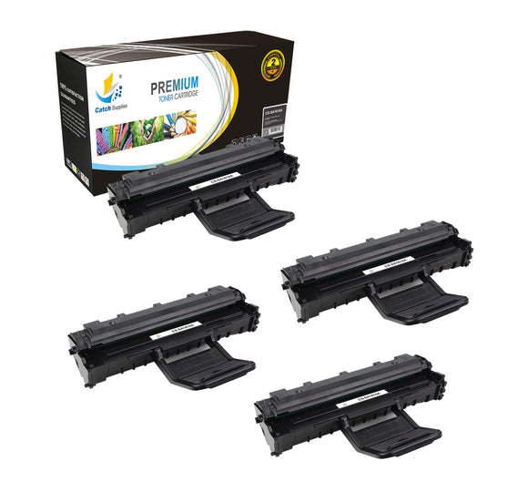 Catch Supplies Replacement Samsung ML-1610D2 Standard Yield Laser Printer Toner Cartridges - Four Pack