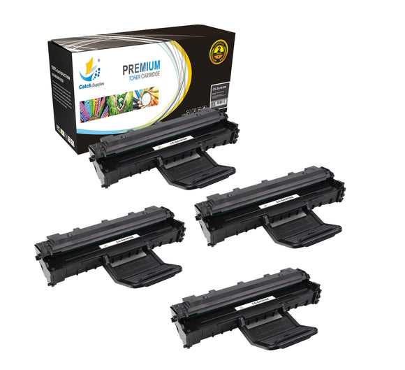 Catch Supplies Replacement Samsung ML-1610D2 High Yield Black Toner Cartridge Laser Printer Toner Cartridges - Four Pack