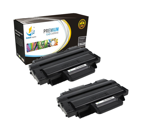 Catch Supplies Replacement Samsung ML-D2850B High Yield Black Toner Cartridge Laser Printer Toner Cartridges - Two Pack