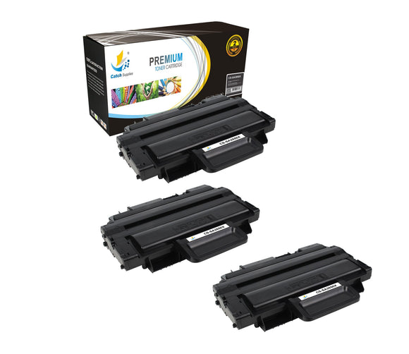 Catch Supplies Replacement Samsung ML-D2850B High Yield Black Toner Cartridge Laser Printer Toner Cartridges - Three Pack