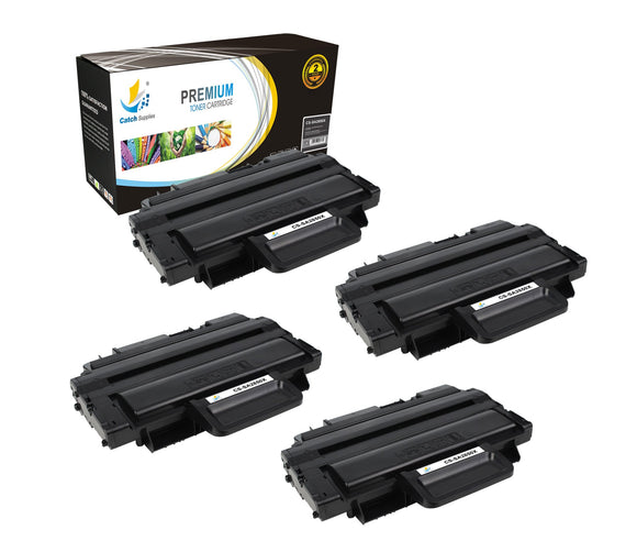 Catch Supplies Replacement ML-2850 Black Toner Cartridge 4 Pack