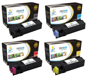 Catch Supplies Replacement Xerox 106R01334,106R01331,106R01332,106R01333 Standard Yield Laser Printer Toner Cartridges - Four Pack