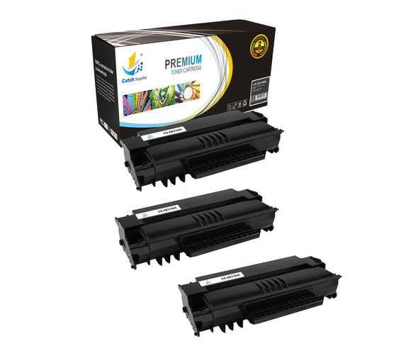 Catch Supplies Replacement Xerox 106R01379 High Yield Black Toner Cartridge Laser Printer Toner Cartridges - Three Pack