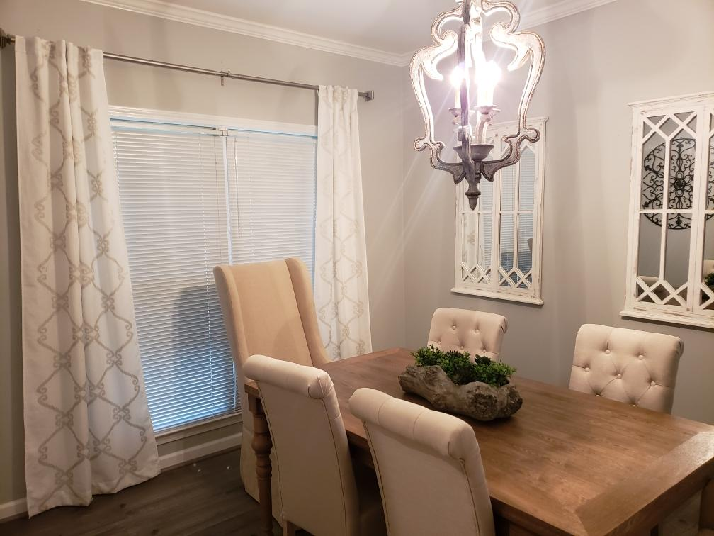 Brittney's Stylish Dining Room