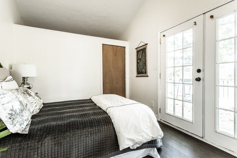 Clare Ave River House Rban Master Bedroom