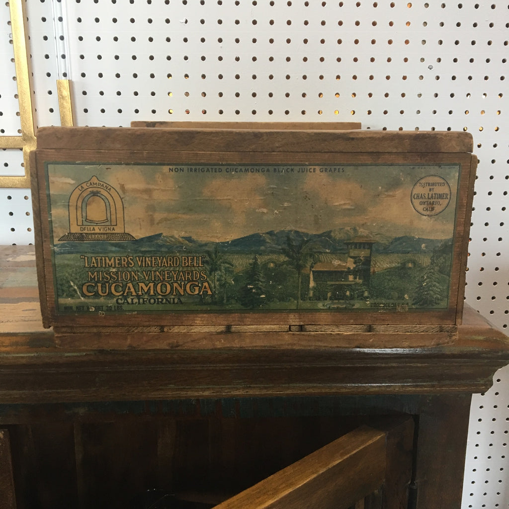 Antique Crate