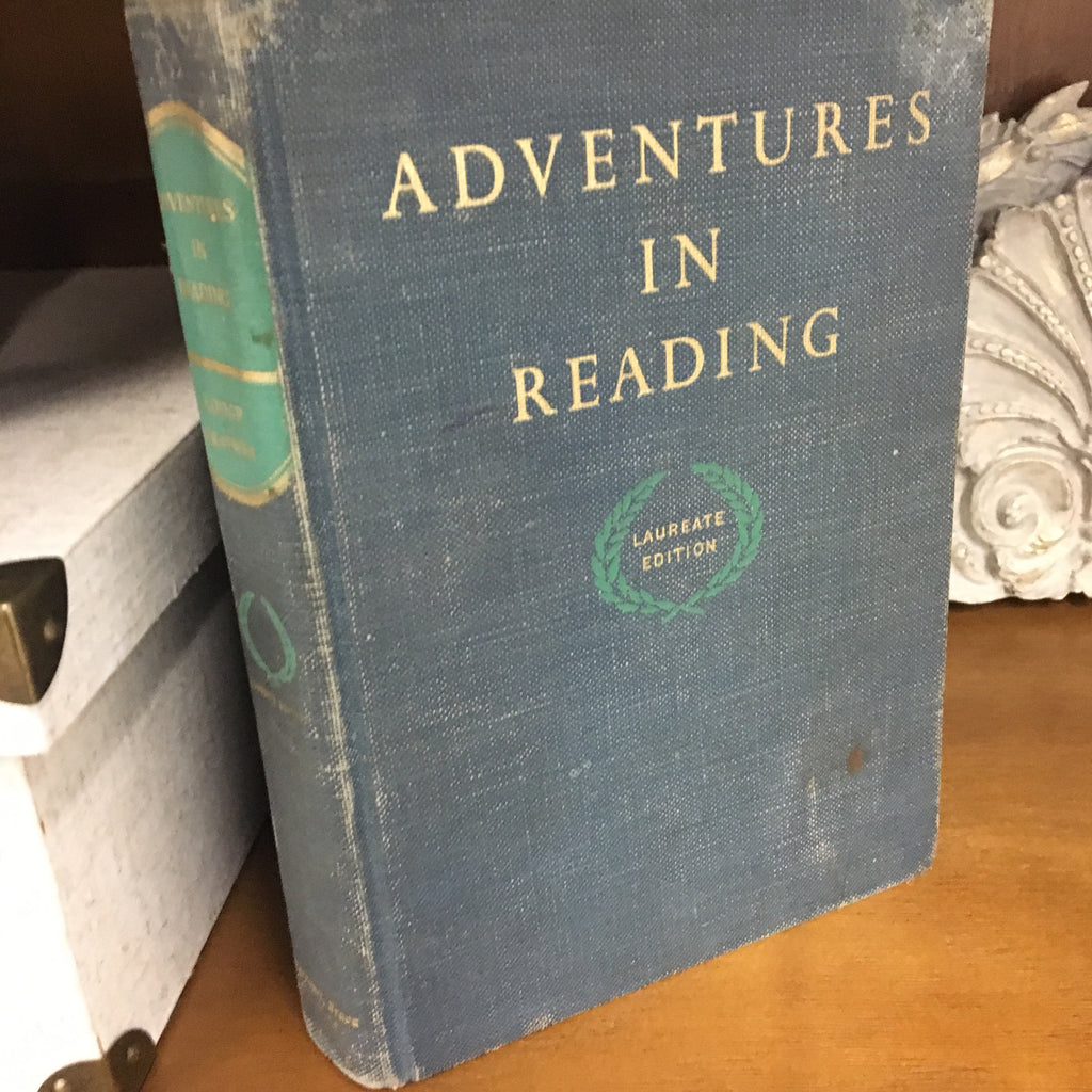 """Adventures in Reading"" Vintage Book"