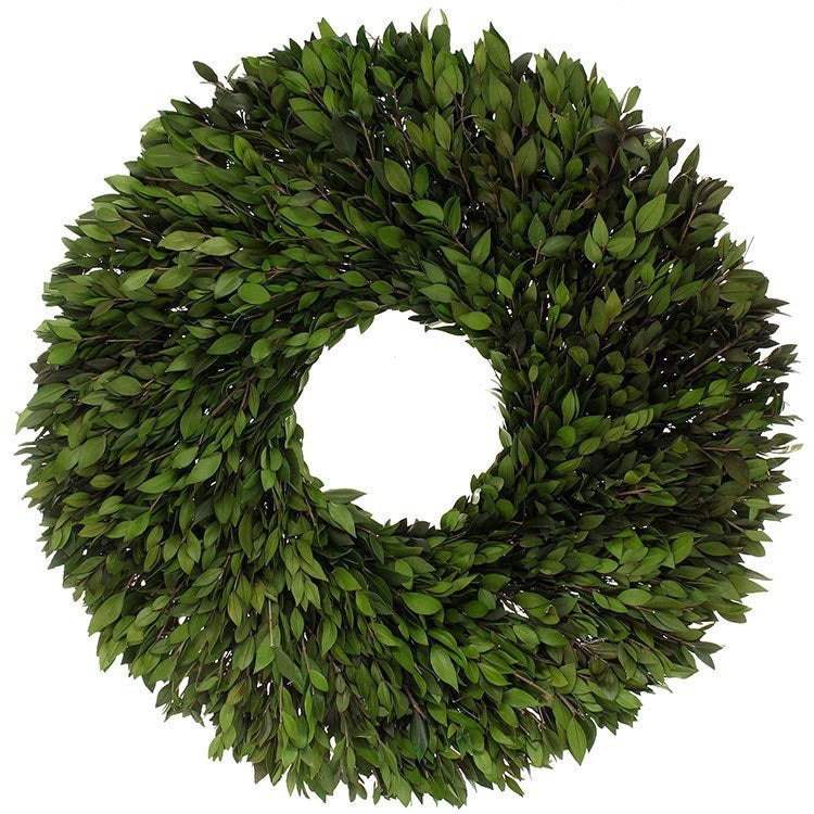 Green Boxwood Wreath