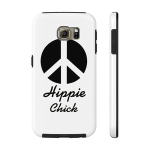 HIPPIE CHICK PEACE PHONE CASE