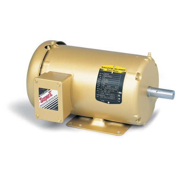 1HP BALDOR 3450RPM 56 TEFC 3PH MOTOR