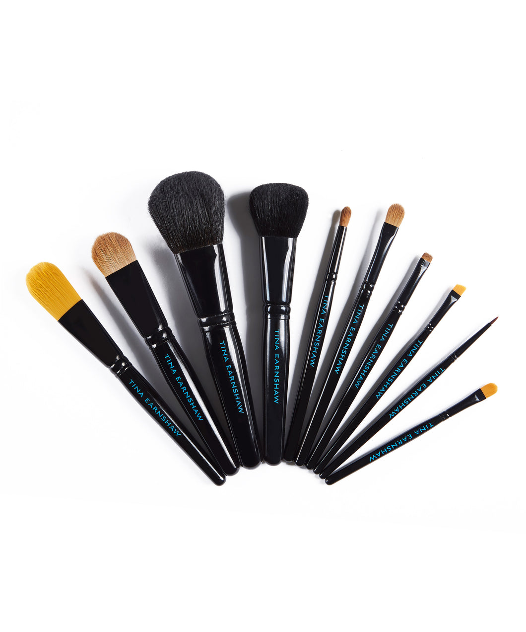 Deluxe brush set - 10 Brushes