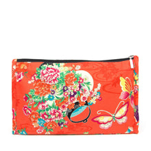 Japanese Butterflies - Make up bag (Large)