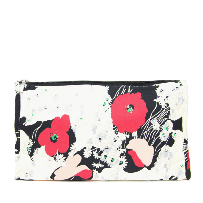 Japanese Poppy - Make up bag (large)