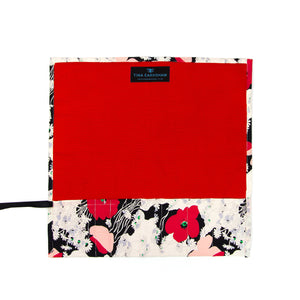 Japanese Poppy - Medium Brush Wrap (10 Pockets)