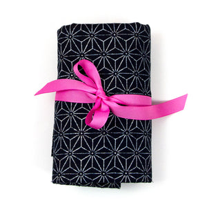 Japanese Stars - Large Brush Wrap (21 Pockets)