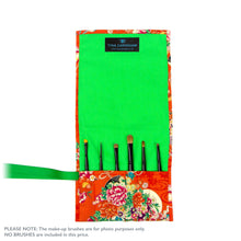 Japanese Butterflies - Small Brush Wrap (6 Pocket)