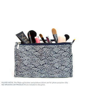 Japanese Shells - Make up bag (sm)