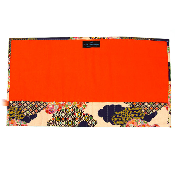 Tokyo Fire - Large Brush Wrap (21 Pockets)