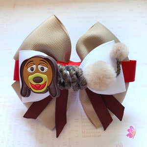 Slinky Dog Toy Story Inspired Hair Bow