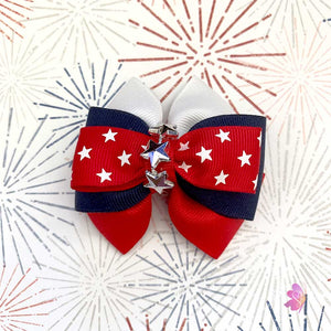 4th of July Celebrations Hair Bow