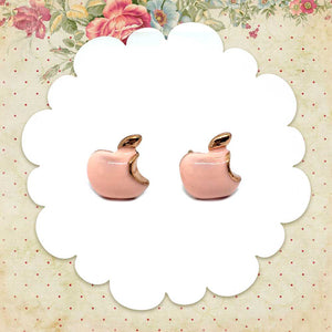 Apple Bite Earrings, Jewelry, sweetbiie