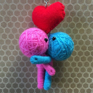 In Love String Doll Keychain