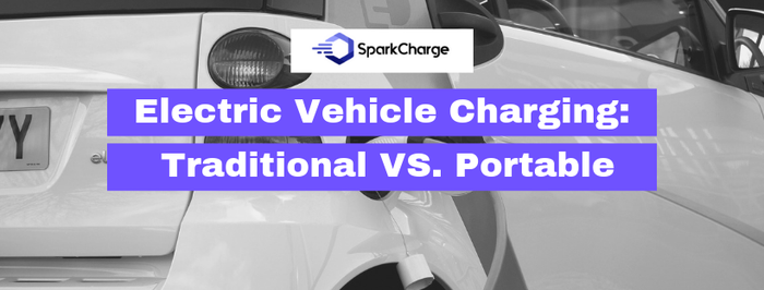 Electric Vehicle Charging: Traditional vs. Portable