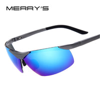 Men Polarized Sunglasses Aluminum Alloy Frame 7 Colours