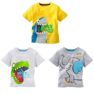 Boys Cartoon Cotton T- Shirt