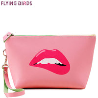 FLYING BIRDS Cosmetic Makeup Bag Waterproof