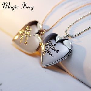 Photo Frame Memory Locket Necklace