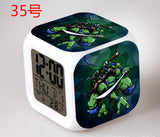 LED Teenage Mutant Ninja Turtles Alarm Clocks