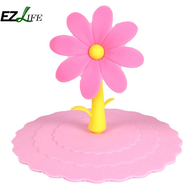 Flower Suction Airtight Sealed Cup Cover