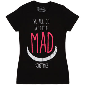 Alice In Wonderland Quote Cotton T-Shirt