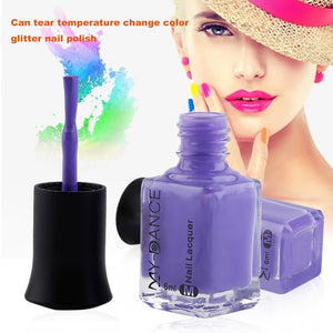 6ml Color Changing Thermal Nail Polish Peel Off Varnish Temperature Controlled