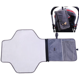 Portable Baby Changing Mat/Bag Waterproof Washable