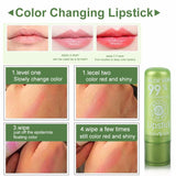 Natural Plant Aloe Gel Moisturizing Lip Care Colour Changing