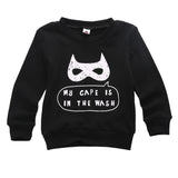 Batman Mask Long Sleeve Sweatshirt Size 3-6T